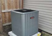 Ac Installation with Amana Air Conditioning unit